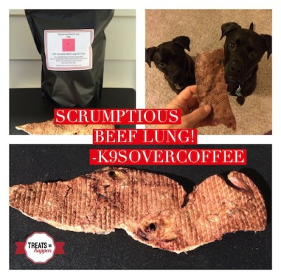 K9sOverCoffee | Srumptious Beef Lung