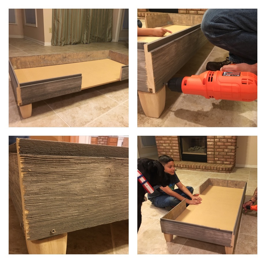 Image Result For Bed Built Over Stair Box: How We Built A Rustic DIY Dog Bed Frame