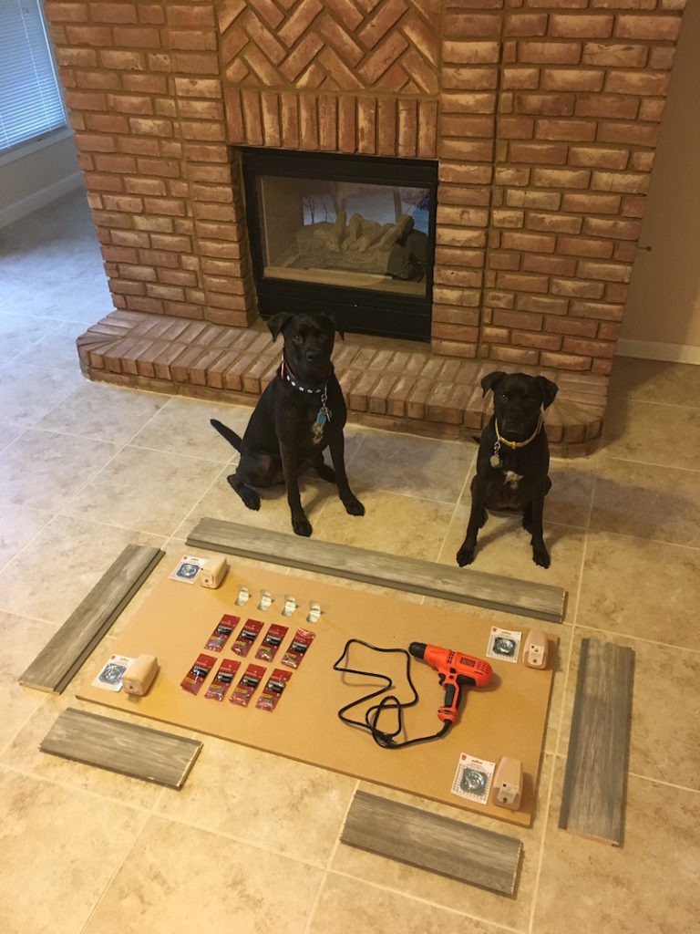 How we built a rustic diy dog bed frame for Bed frame with dog kennel