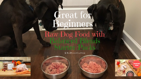 K9sOverCoffee | Try Raw Dog Food With Balanced Blends Starter Packs