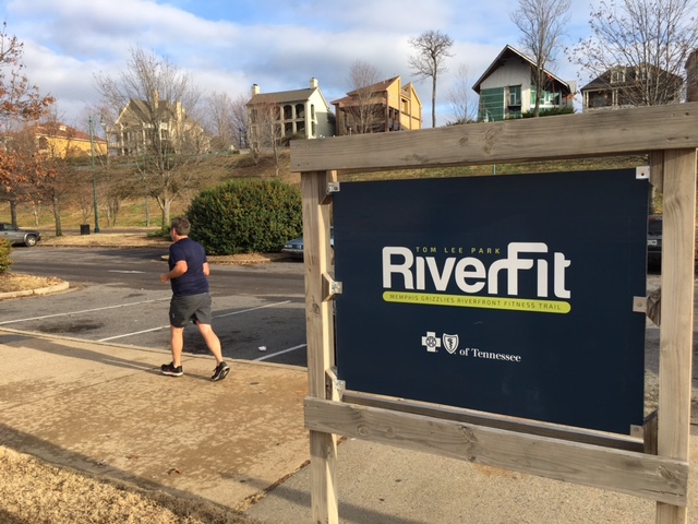 K9sOverCoffee | Walking in Memphis with 2 dogs in tow - RiverFit at Tom Lee Park