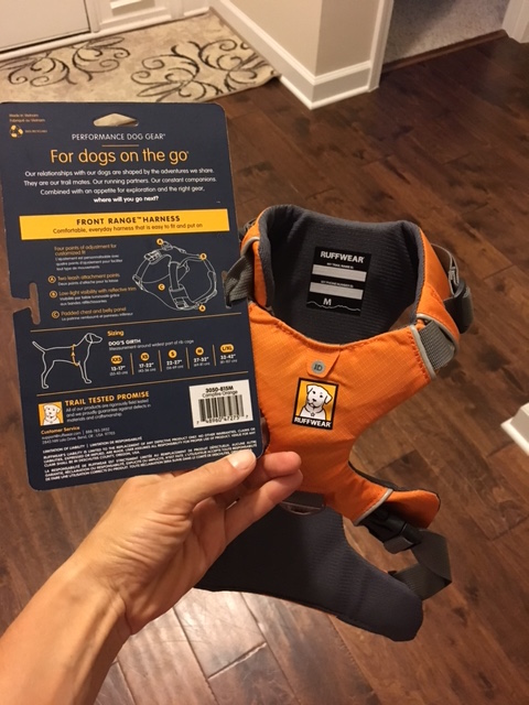 K9sOverCoffee | Ruffwear's Front Range vs Load Up Harness - Which One Is Better? - Front Range Harness
