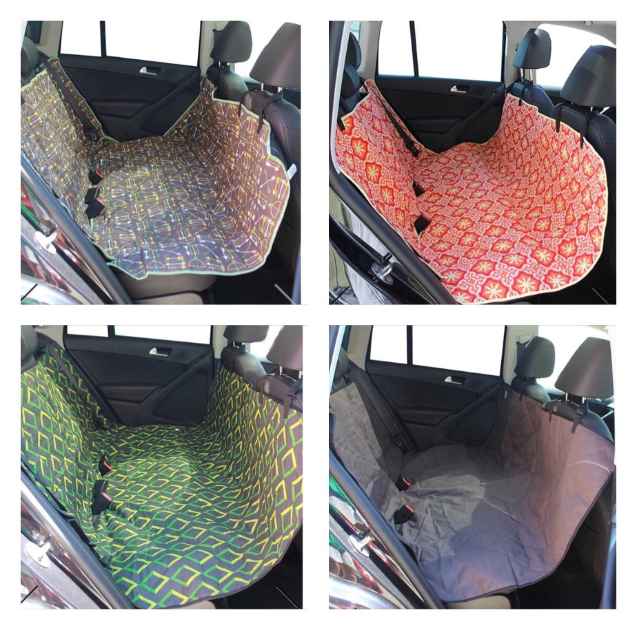 K9sOverCoffee | Different Patterns Of Molly Mutts Car Seat Cover:Hammock