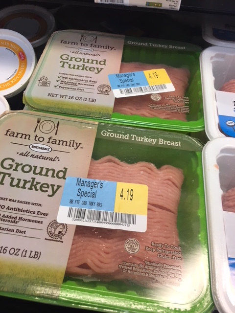 K9sOverCoffee | Ground Turkey Breast On Sale At The Grocery Store