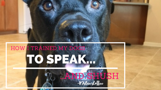 K9sOverCoffee | How I Trained My Dogs To Speak