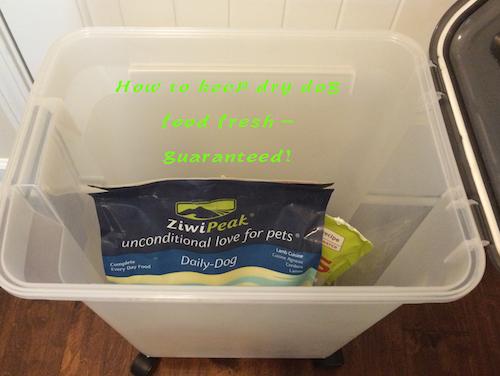 How to keep dry dog food fresh - Guaranteed!