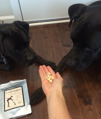 On my list of best single-ingredient dog treats: Single-ingredient, freeze-dried Le Dogue Bites from Dr. Harvey's