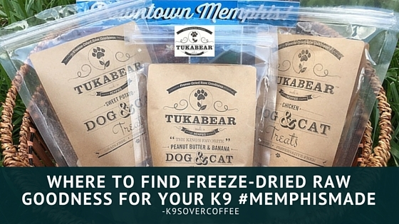 Where To Find Freeze-Dried Raw Goodness For Your K9 #MemphisMade