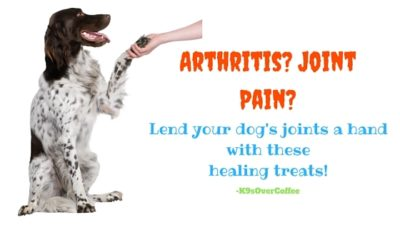 K9sOverCoffee | Arthritis? Joint Pain? Lend Your Dog's Joints A Hand With These Healing Treats!