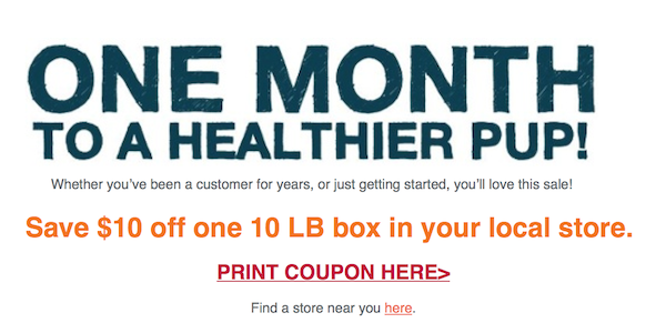 THK Biggest Sale Of The Year Email