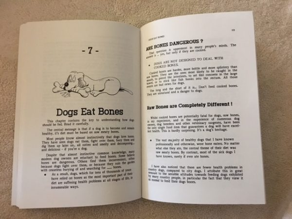 K9sOverCoffee | Book Review Of The Raw Feeding Bible - Give Your Dog A Bone by Dr. Ian Billinghurst - Chapter 7
