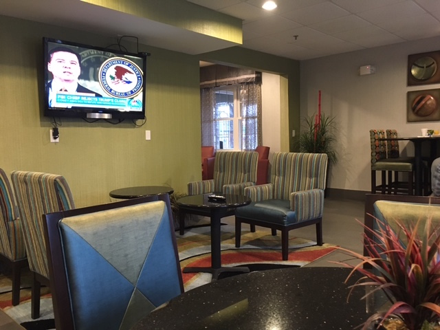 K9sOverCoffee | Our First Experience At Pet-Friendly La Quinta Inns & Suites - Breakfast Area