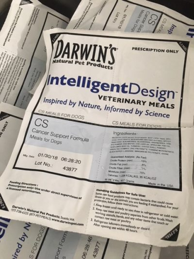 Darwin's Cancer Support Formula Is A Great Raw Meat Diet for Dogs With Cancer