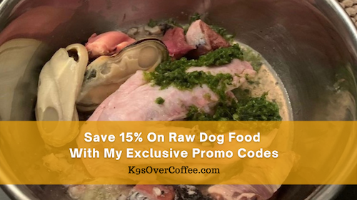 K9sOverCoffee | Save 15% on raw dog food with my exclusive promo codes for raw dog food